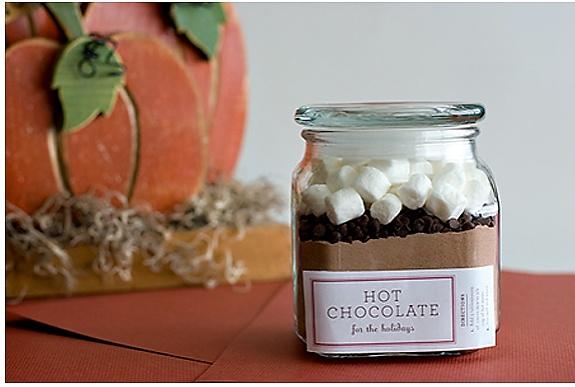 hot cocoa in a jar | Jill's Obsessions | Pinterest