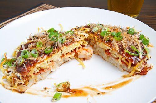 Okonomiyaki (Hiroshima Style) | Recipe