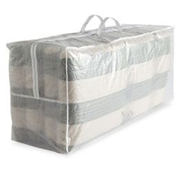 Outdoor Cushion Storage Bag these would also be great for all the extra decorative pillows, and bedding.