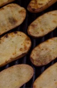 Vinegar & Salt Potatoes on the Grill