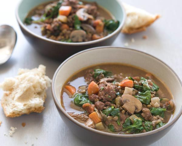 Hearty and Lentil Sausage Soup | Recipe