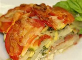 Tomato Summer Vegetable Tart | Recipe
