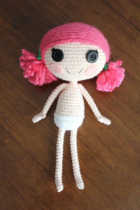 Sock Monkey Amigurumi Pattern : PATTERN: Lalaloopsy Crochet Amigurumi Doll