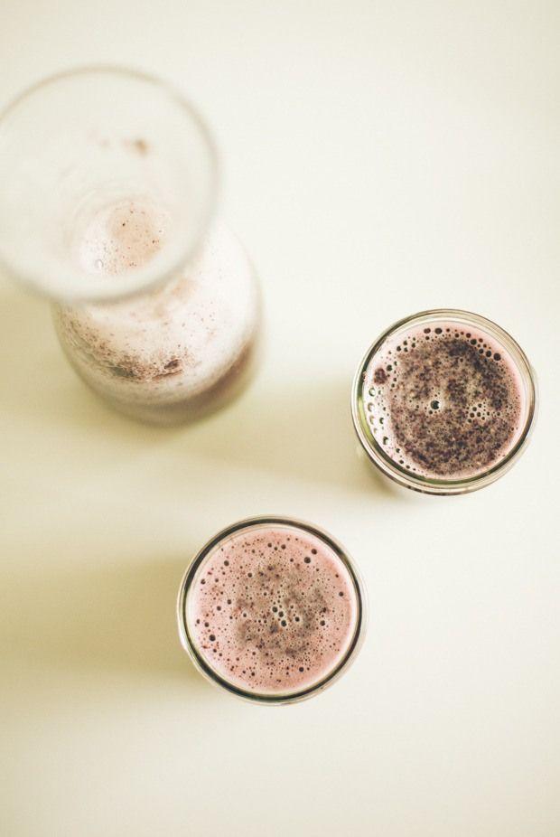 Blueberry pomegranate chia fresca via Food Loves Writing