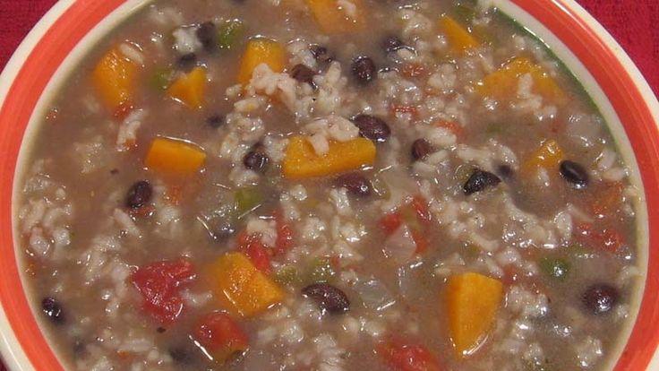 Sweet potato & black bean soup | Soups & Slow Cooker | Pinterest