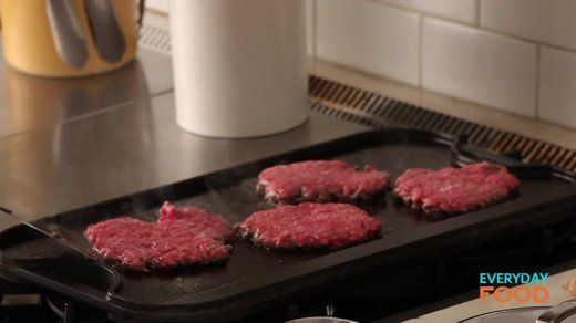 Old-Fashioned Cheeseburgers Recipe | Cooking | How To | Martha Stewart ...