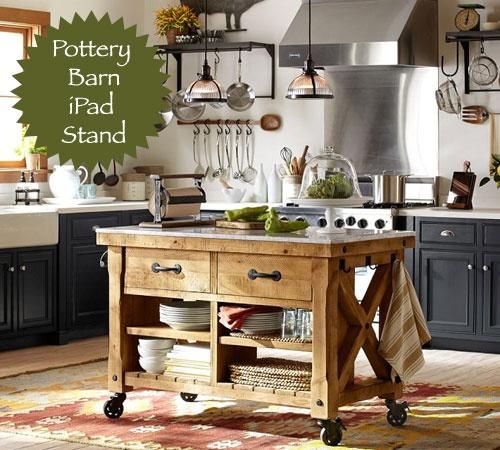Pottery Barn Ipad Stand Kitchens Pinterest