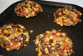Corn black bean burger | Healthier side of life | Pinterest