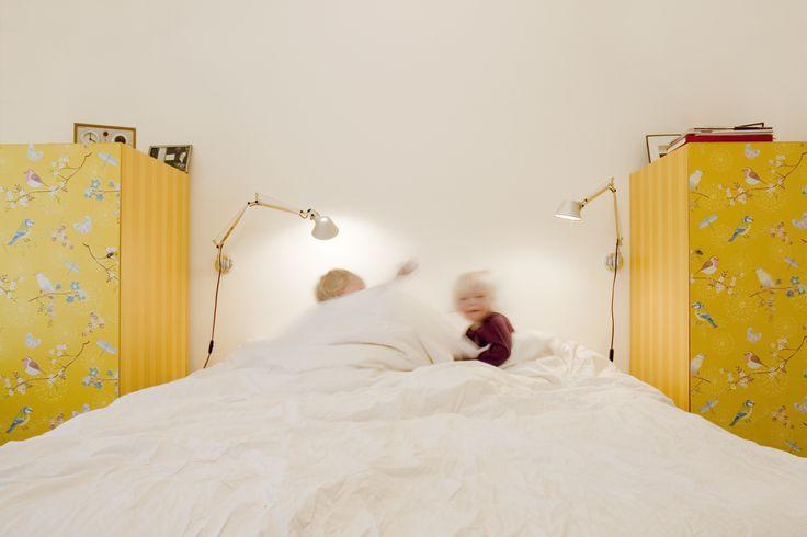 Kledingkast met behang  Bedroom  Pinterest