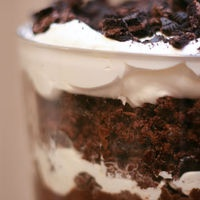 Jello and Cool Whip Chocolate Trifle by Kathy Lozon