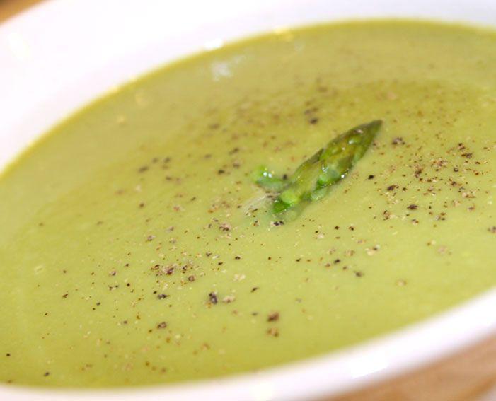 Asparagus Soup Recipe | Delish | Pinterest