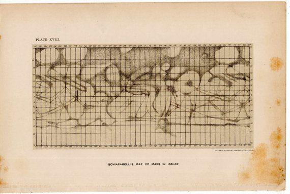 printable map of planet mars - photo #38