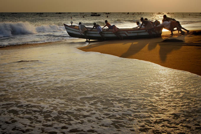 Kollam India  City pictures : Kollam Beach, India | Incredible India : | Pinterest