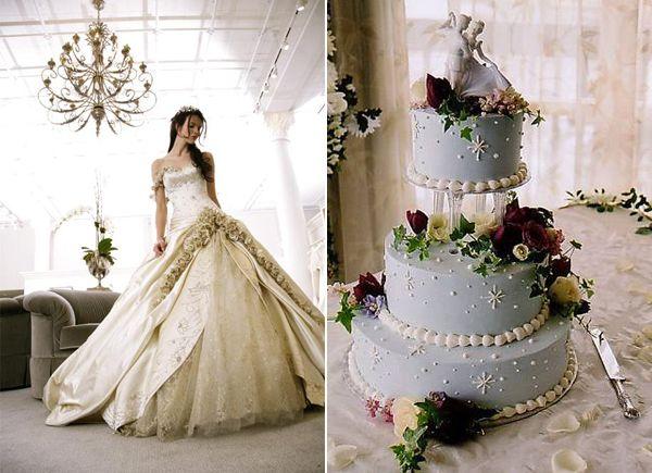 Cinderella Themed Wedding Dresses : Cinderella theme the wedding planner