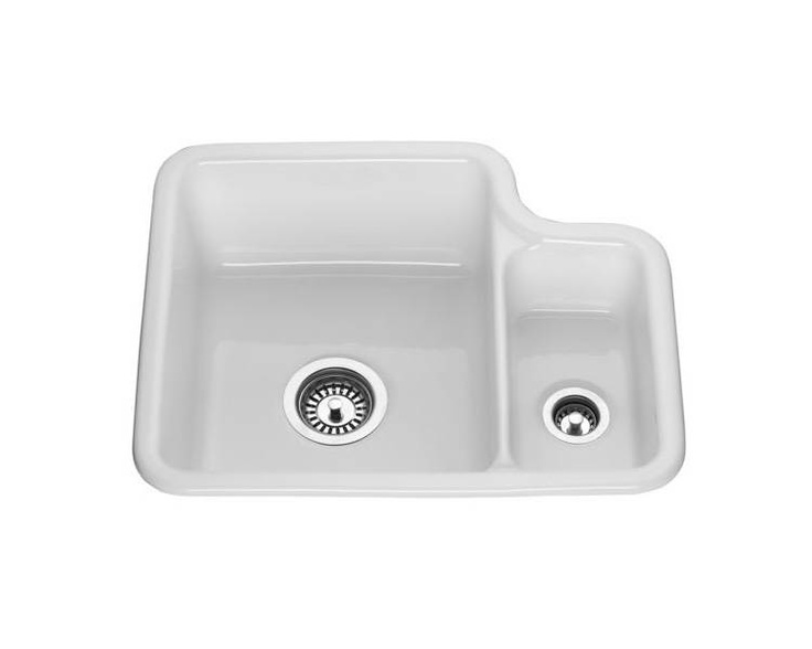 Undermount Sink Ceramic : Lamona 1.5 Bowl Ceramic Undermount Sink B.D. Pinterest