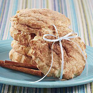 Gina's Giant Snickerdoodle Cookies | Cookies | Pinterest