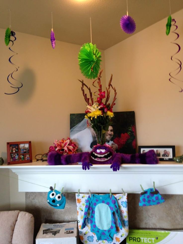 monster 39 s inc baby shower decorations for carissa pinterest