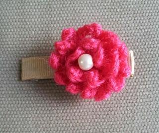 Free Crochet Pattern ~ Net Yarn Hair Puff | Jessie At Home