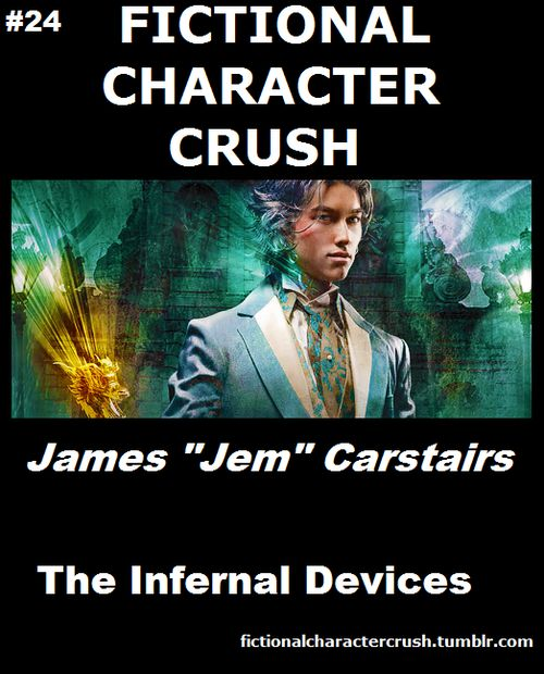 "Infernal Devices Characters | 24 - James ""Jem"" Carstairs from The Infernal Devices18/07/2012"