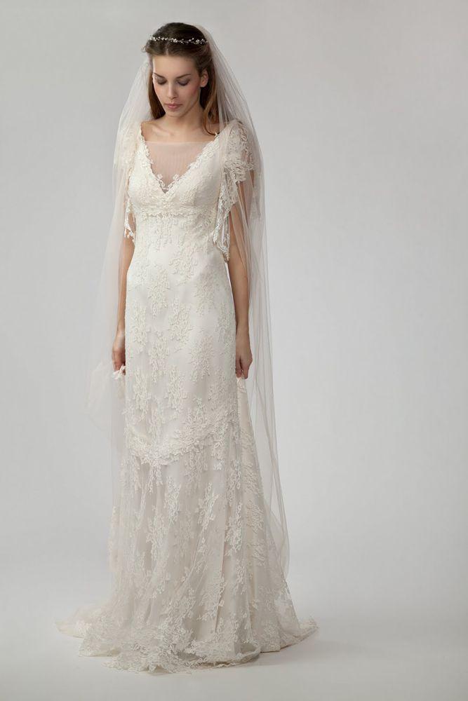 mirror mirror couture vintage wedding dress wedding