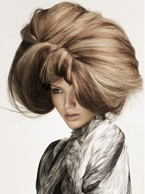Quirky Hairstyles For Long Hair : LOVE this long blonde straight quirky avant garde hairstyle by Trevor ...