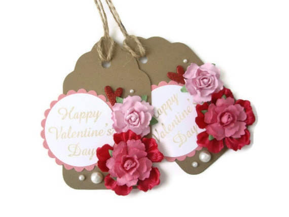 gift tag for valentine
