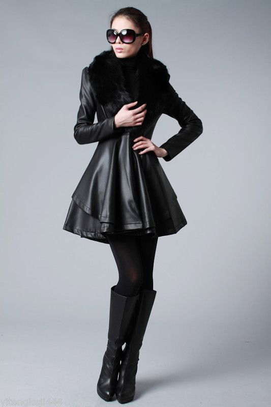 Leather Clothing for Women 0092
