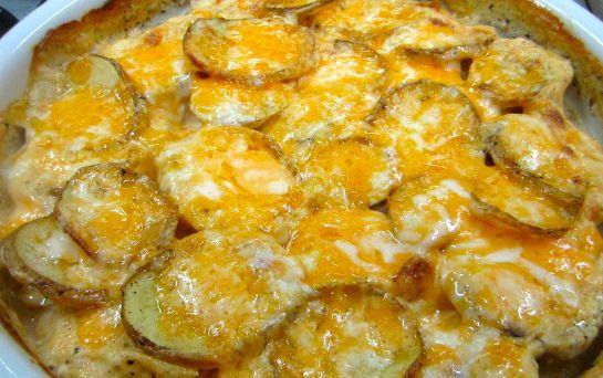 Easy Potato Gratin | Side Dishes | Pinterest