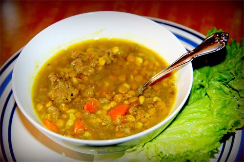 Split Pea Soup Recipe photo | Coconut Recipes Blog | Pinterest