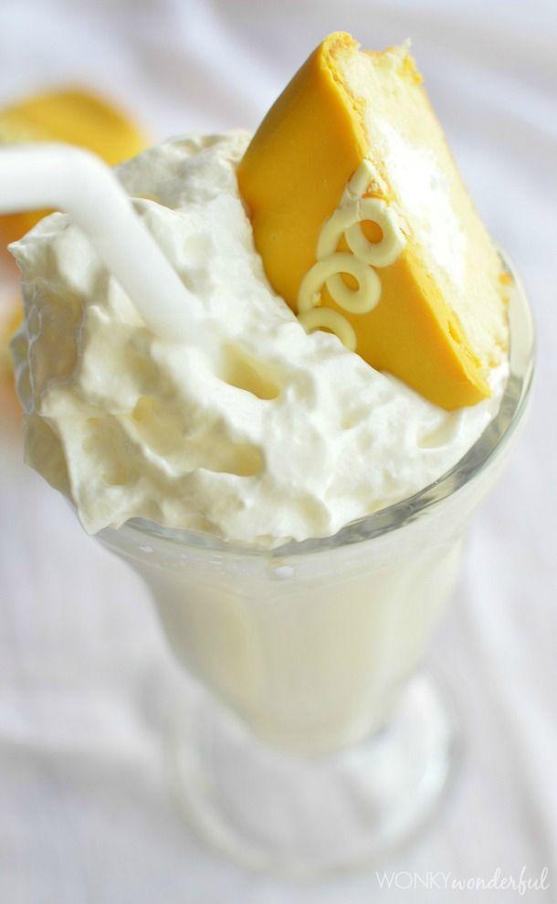 Orange Cream Cupcake Milkshake Recipe - wonkywonderful.com
