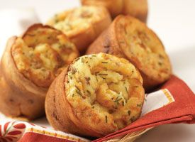 Recipe: Fresh White Corn, Bacon and Cheddar Popovers | PCC Natural ...