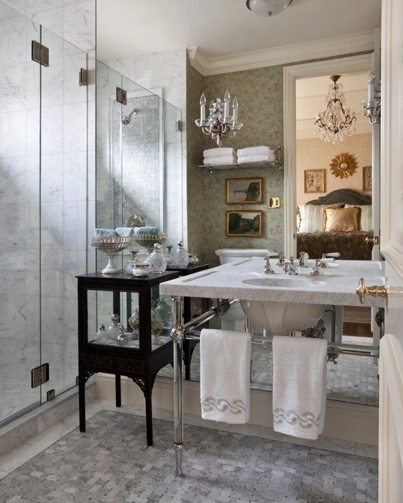 French Country Bathroom Bathing Beauty Pinterest
