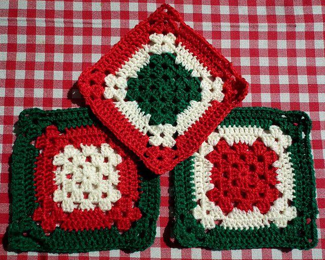 Christmas Blanket ~ free pattern ? Crochet crafts ...