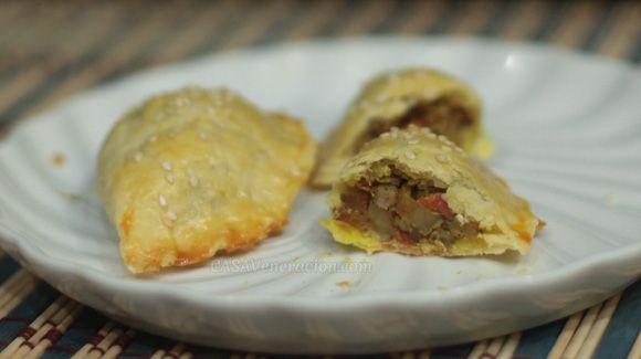 pork and vegetable curry for the filling, I made pork curry empanadas ...