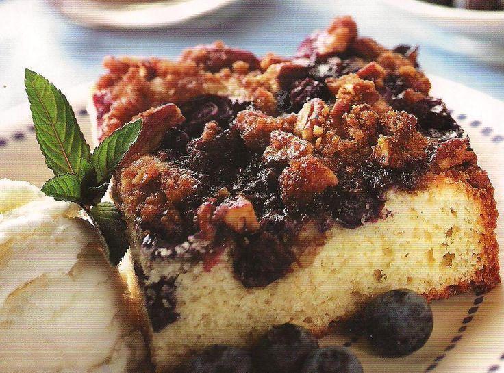 Blueberry Coffee Cake | Cakes | Pinterest
