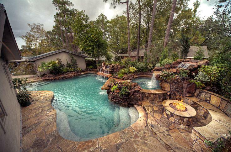 Pools Luxury Pools, Garden Pools, Custom Pools, Luxury Backyards