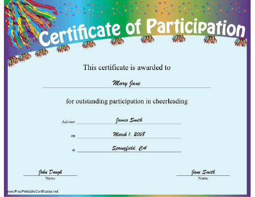 certificates awards printable certificates for