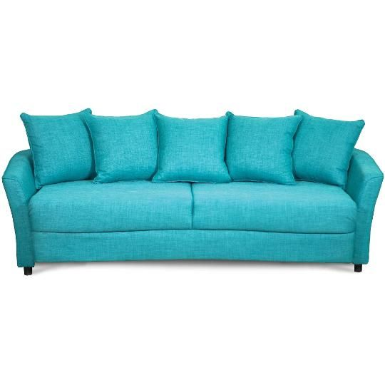 94 Turquoise Upholstered Sofa Sleeper Love Rc Willey Pinterest
