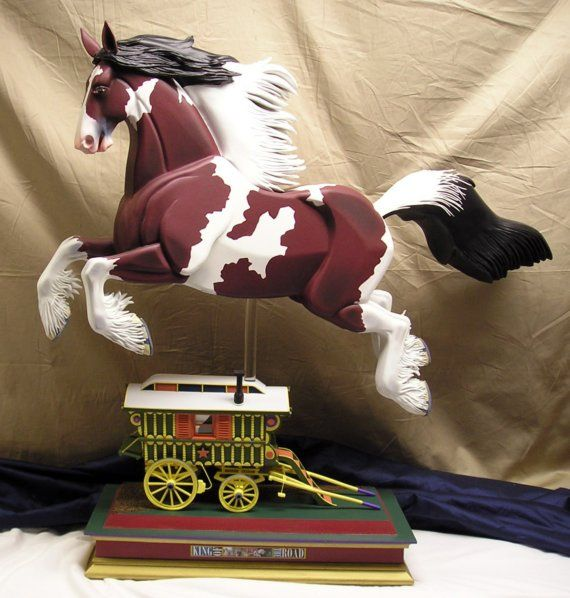 King of the Road gypsy vanner rocking horse