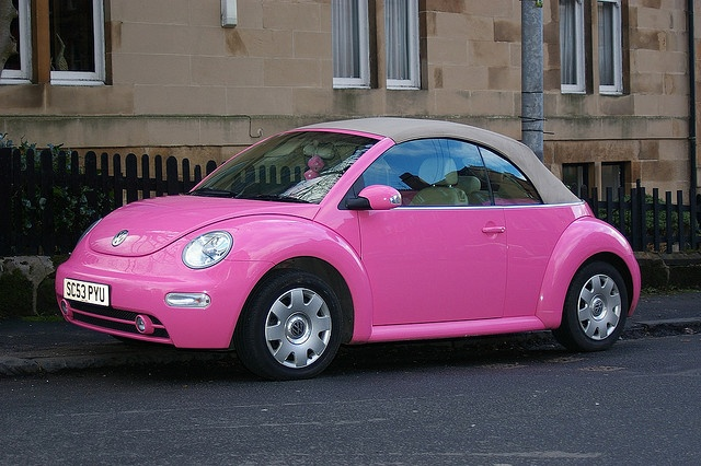 Pink VW want