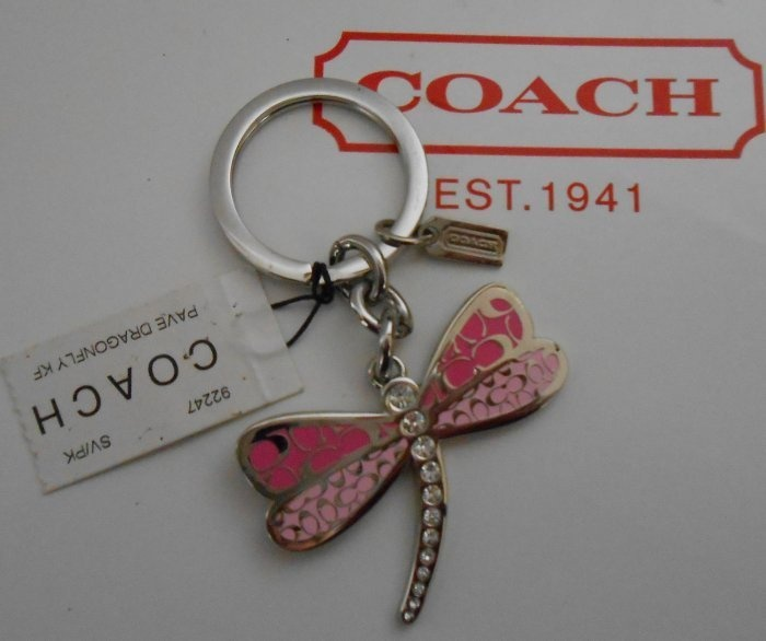Coach Pave Dragonfly Key Ring Key Chain Love These ...