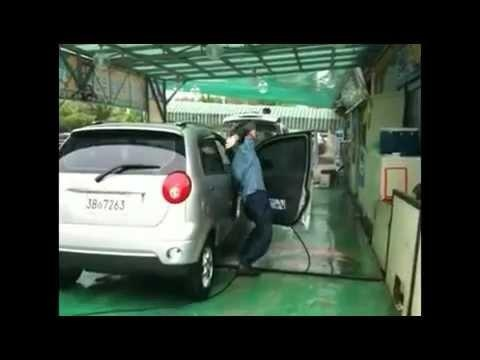 That s one quick car washer