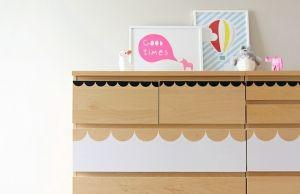 Kinderzimmer einrichten – Kommode von Ikea kreativ verschönern
