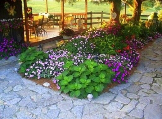 Pin by connie murphy on gardening for the love of it for Flower beds for small gardens