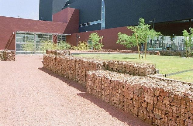 Gabion Retaining Wall : gabion retaining wall  Gabion Ideas  Pinterest