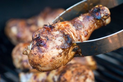Grilled Jerk Chicken | Bon Appetit | Pinterest