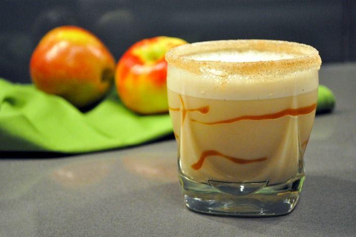 Caramel Apple Pie Milkshake