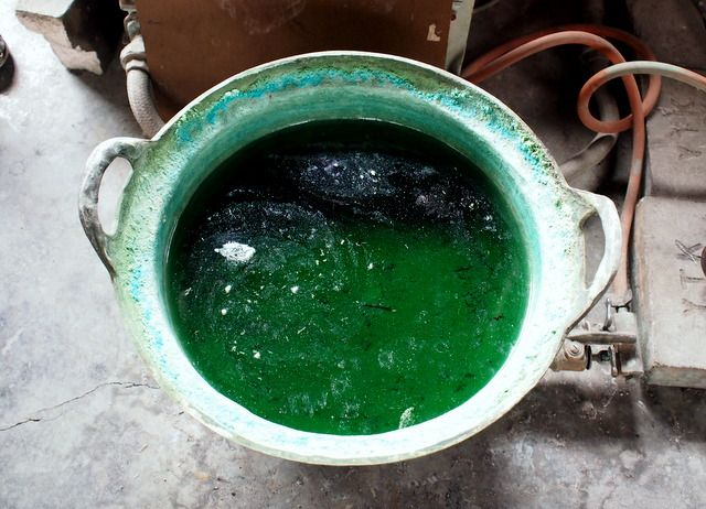 硫酸銅と炭酸銅