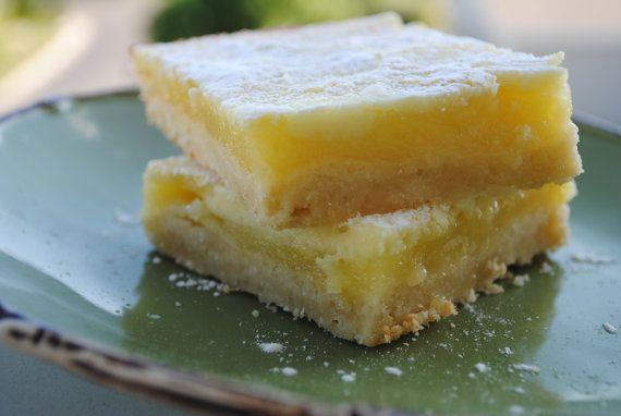 Lemon Marbled Cheesecake Bars 1 dozen by dazycakesbakery on Etsy, $18 ...