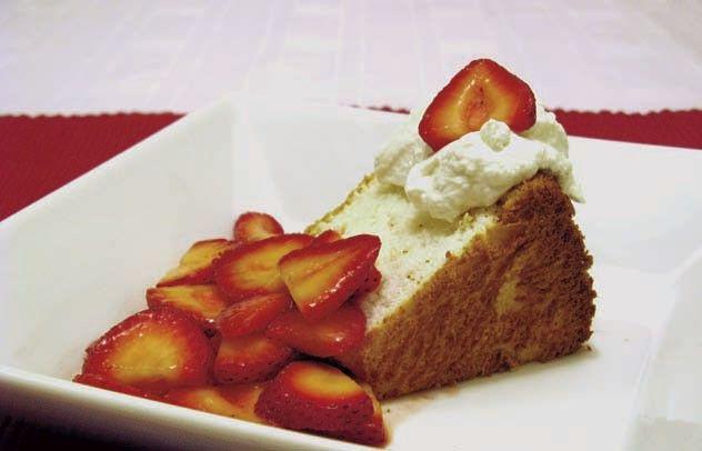 Gluten-Free Angel Food Cake | gluten free recipes | Pinterest